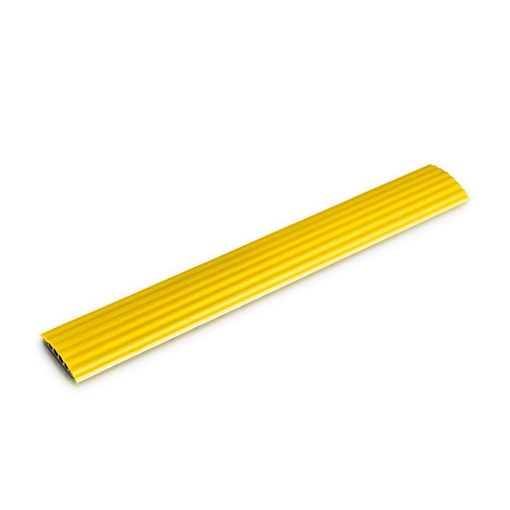 Oficina de Defensa - Cable cruzado de 4 canales de color amarillo