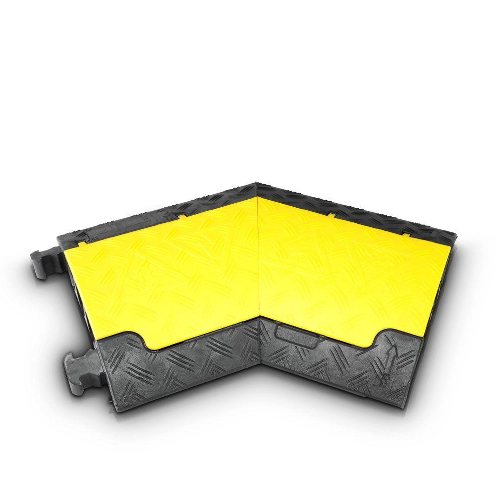 Defender Mini L - 45 ° curva a la izquierda de cable 85200 Protector de 3 canales