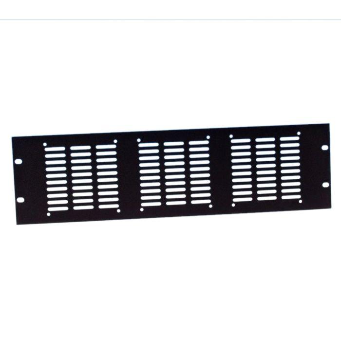 """Adam Hall 19 """"Piezas 8765 - 19"""" Panel de rack de 3 ventiladores axiales"""