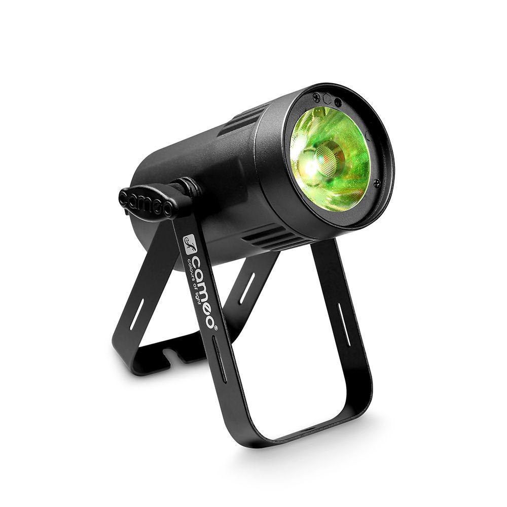 Cameo Q-Spot 15 W - Compacto punto de luz blanca cálida con 15W LED con la cubierta negra