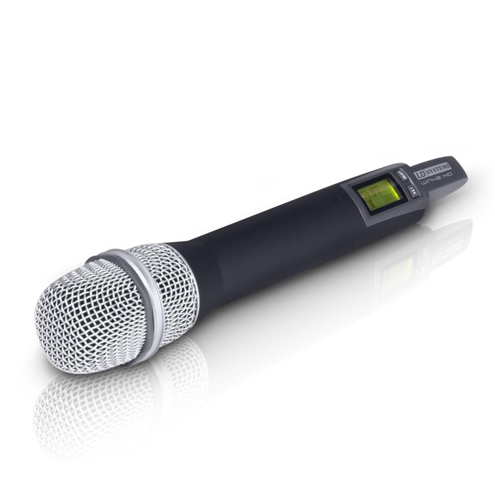 LD Systems WIN 42 MC B 5 - Micrófono de mano de condensador