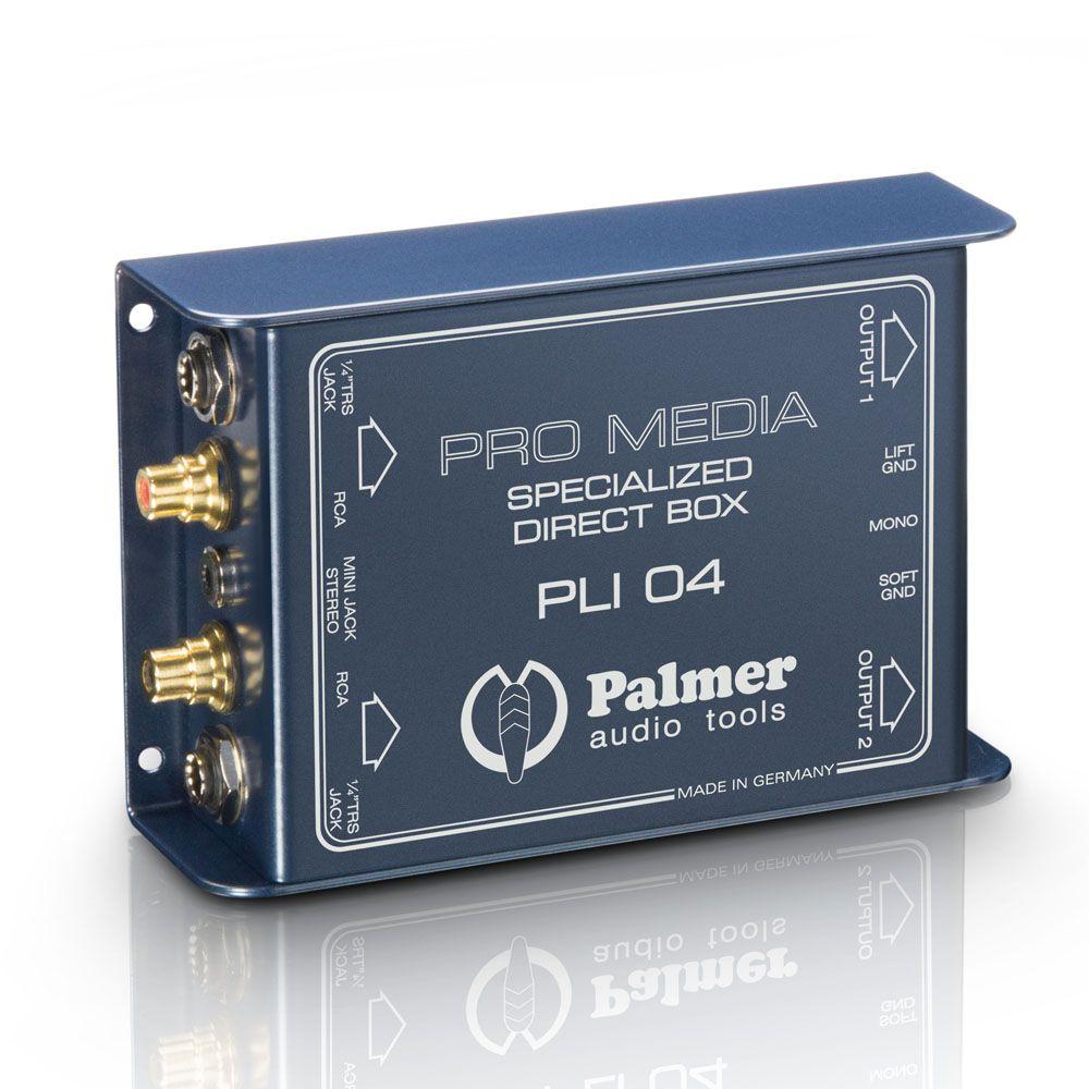 Palmer Pro PLI 04 - Medios Canal DI Box 2 para PC y Laptop