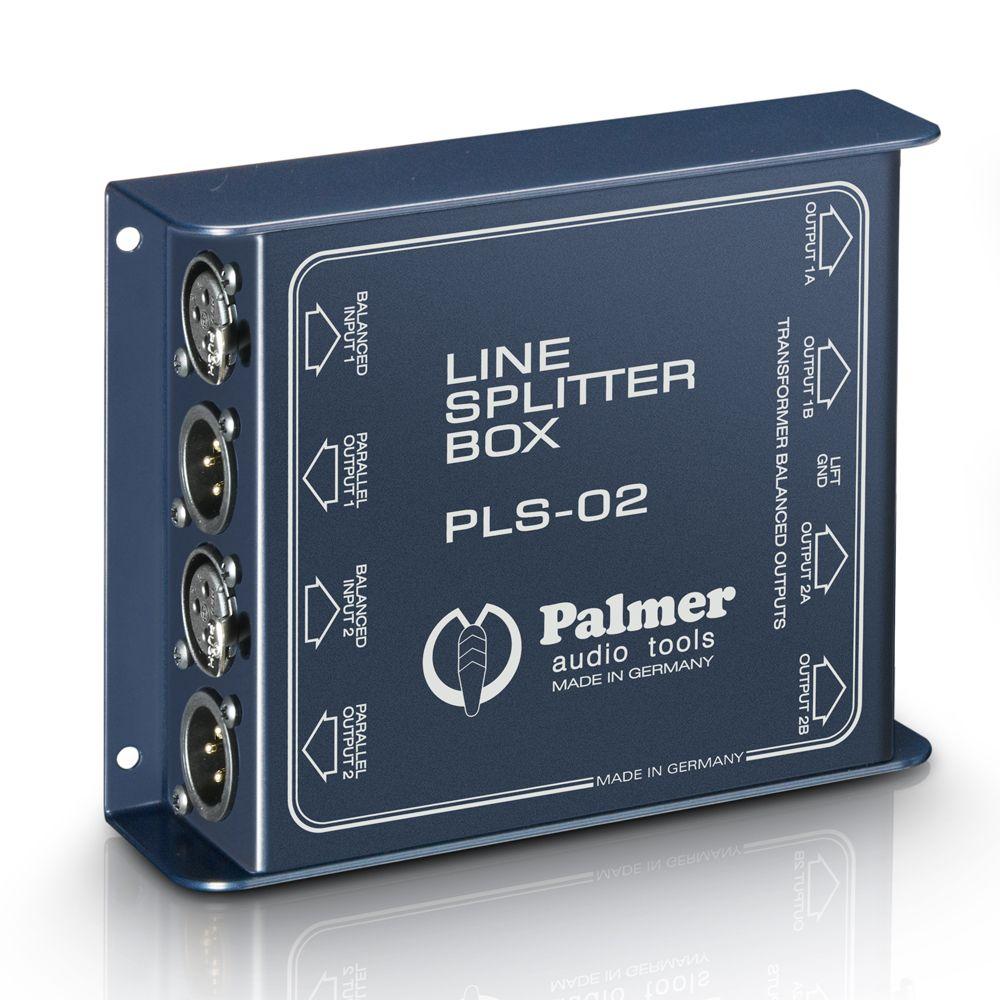 Palmer Pro PLS 02 - Dual Channel Line Splitter