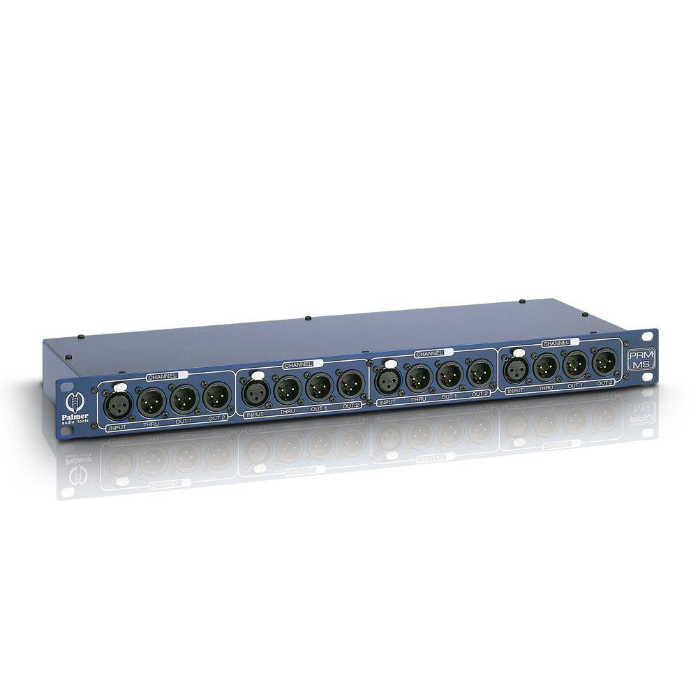 Palmer Pro - Micrófono PRMMS Splitbox de 4 canales