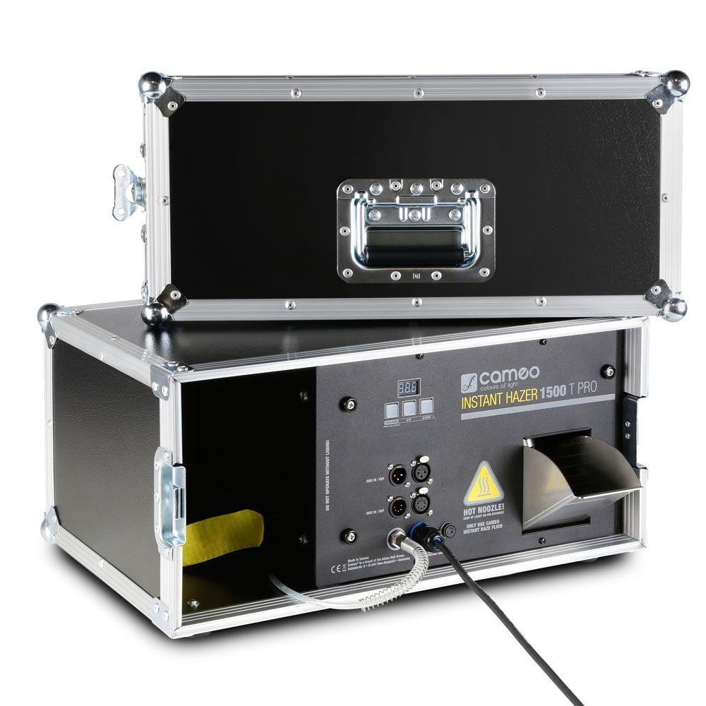 Cameo INSTANTÁNEA HAZER 1500 T PRO - Touring Hazer con control por microprocesador